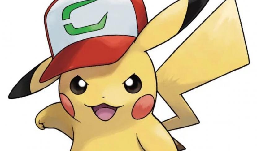 Gratis Pikachu de Ash Gorra Kanto para Pkmn Sol y Luna