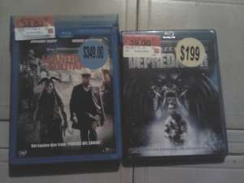 Walmart: Peliculas bluray a precio de liquidacion