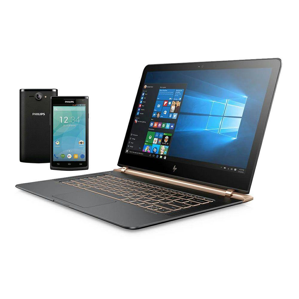 Walmart: Laptop HP Spectre 13-v101la mas Smartphone Philips S388 BANAMEX