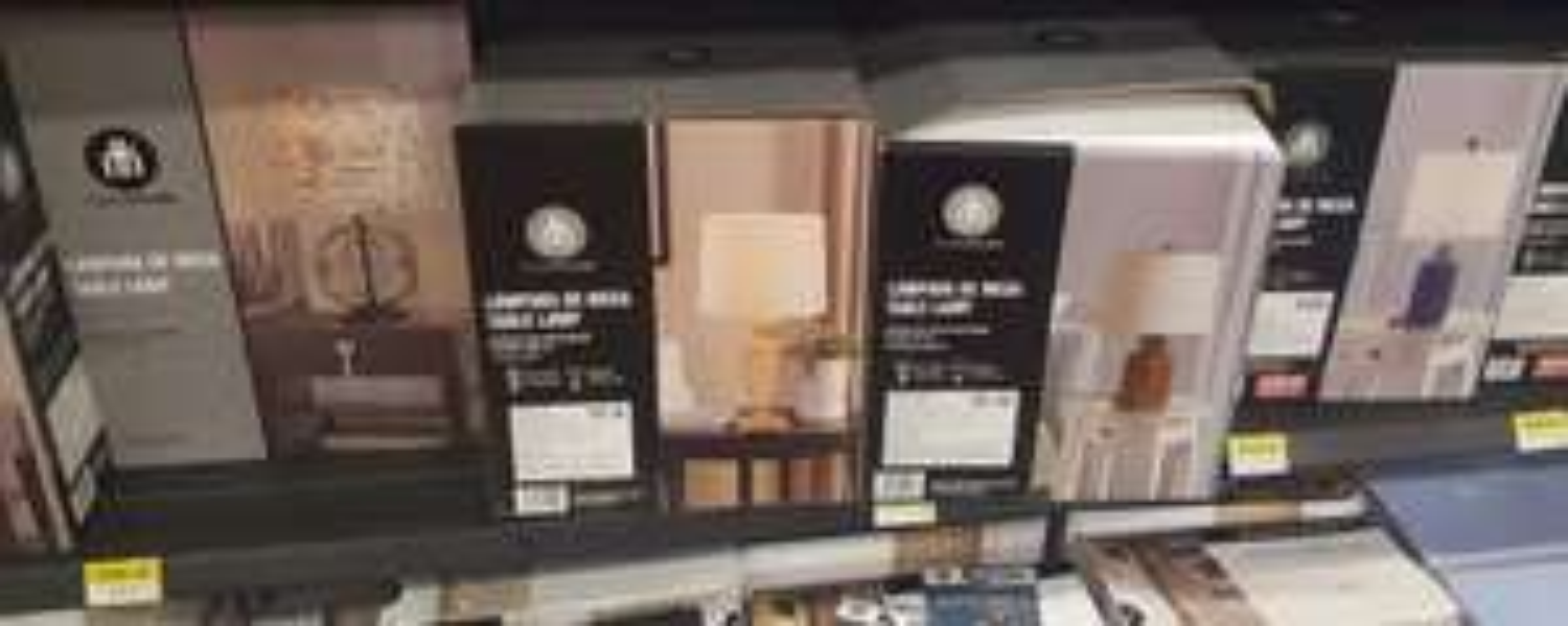 Walmart: Lamparas de Mesa Varias 82.01 y 126.01