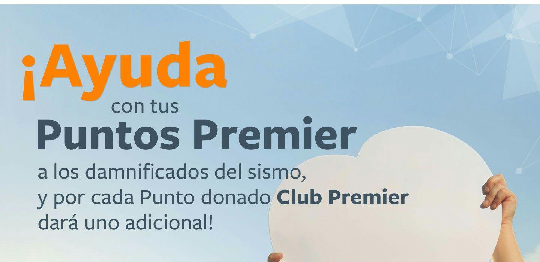 Club Premier: Duplican los puntos que donas para algunas instituciones (Cruz Roja, Save The Children, Milagros Caninos)
