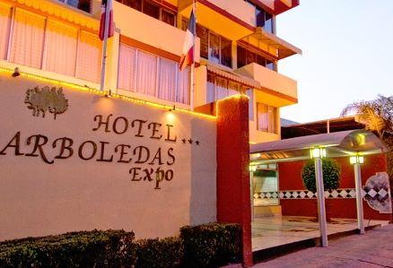 Hotel Arboledas Expo (4 cuadras de Expo Guadalajara) $340 la noche