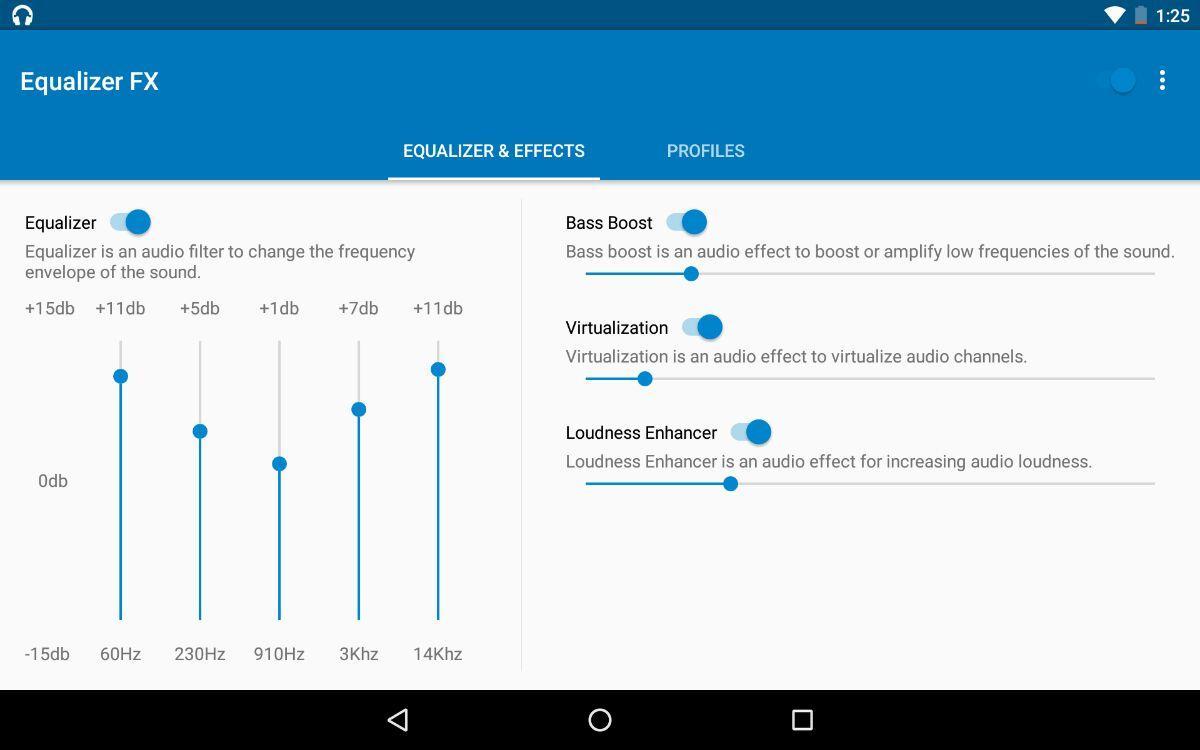 Google Play: Igualada Equalizer FX Pro