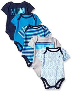 Amazon: Nautica Body para bebé niño 0-3M y 3-6M