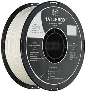 Amazon México: HATCHBOX 3D ABS-1KG1.75- Blanco, rollo de 1 KG