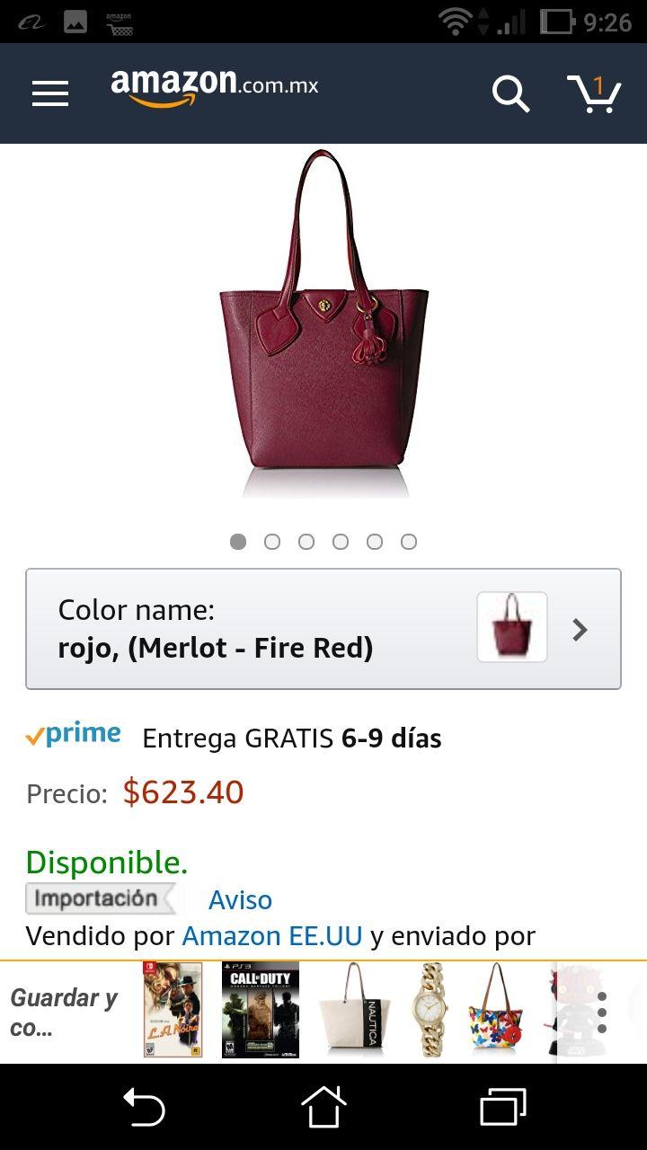 Amazon: Bolsa anne klein