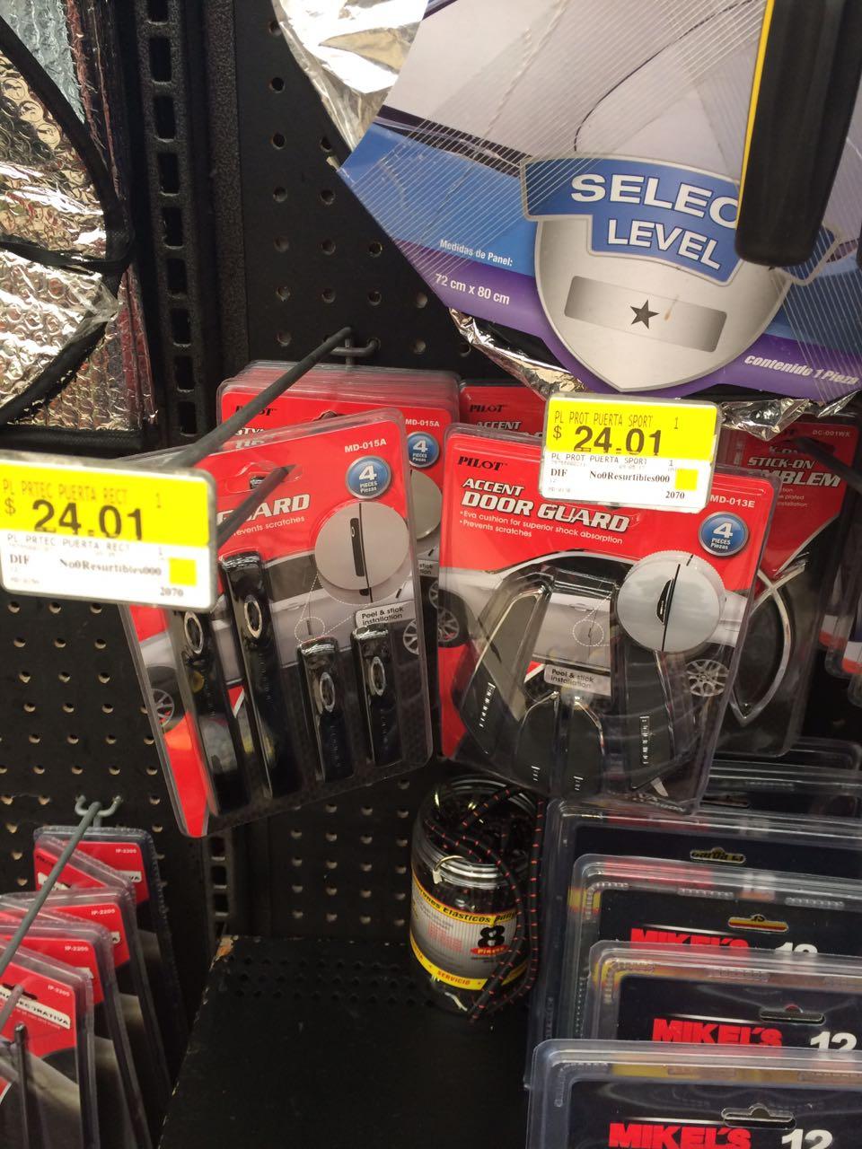 Walmart: Platos waltmart $ 35.02, protector de puertas de auto $ 24.01 y mas
