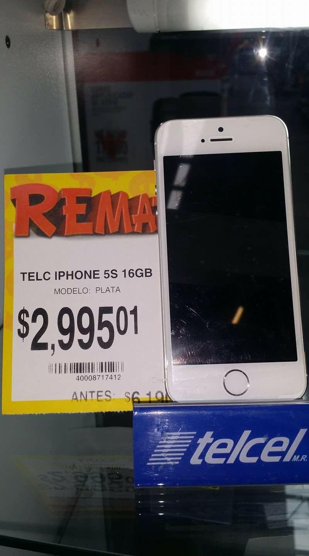 Bodega Aurrerá Colima: iPhone 5s 16gb $2995.01