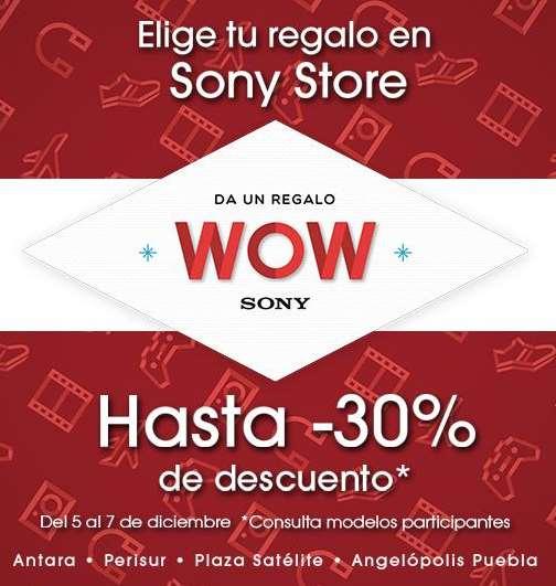 Venta Nocturna Sony: hasta el 30% de descuento y hasta 18 meses con envío gratis
