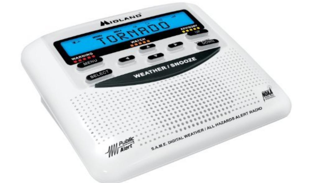 Amazon: Radio reloj despertador alerta sísmica y meteorológicas