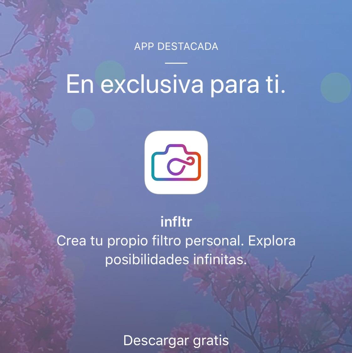 App de Apple Store: infltr gratis
