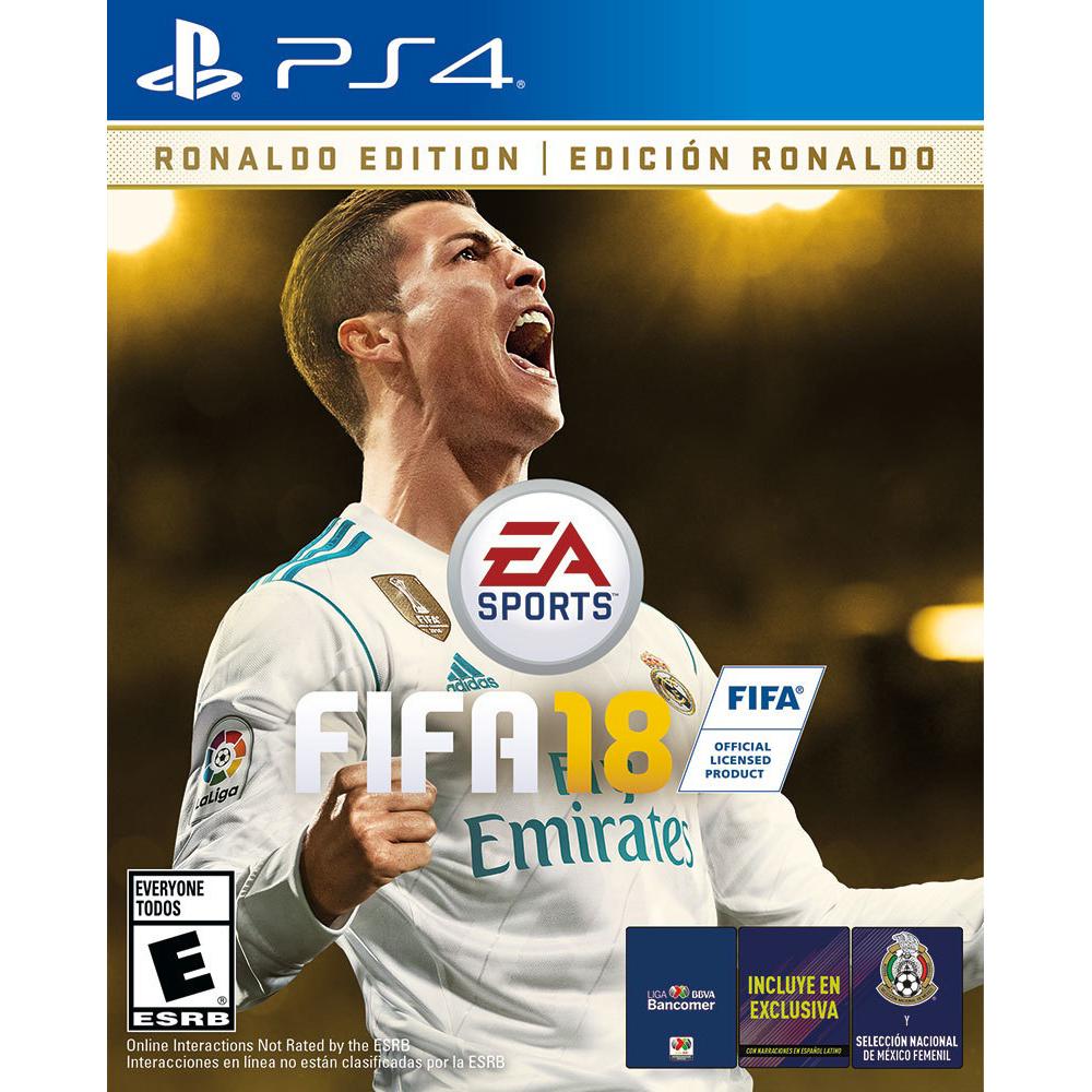 Elektra: Fifa18 (Ronaldo Edition) PS4 y Xbox One