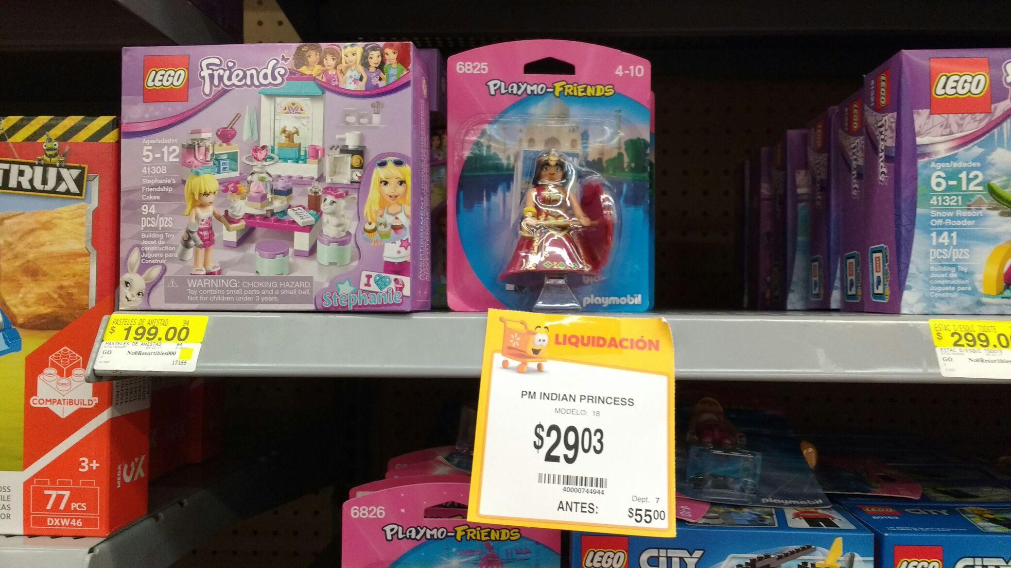 Walmart Tecnológico, Colima: Playmobil friends