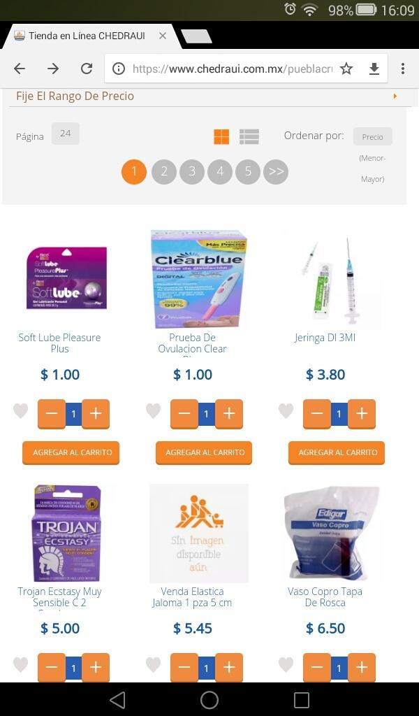 Chedraui: Distintos productos en linea (ej. Soft Lube Pleasure Plus $1)