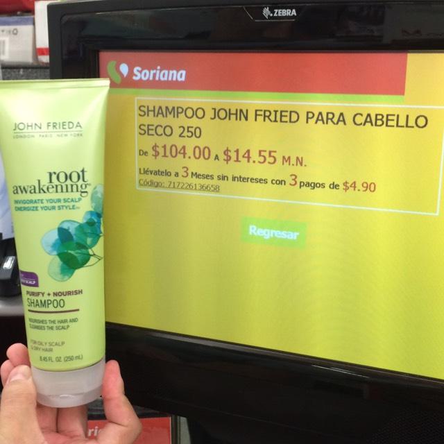 Soriana: Shampoo y acondicionador John Frieda, vasos vintage, ropa interior marca Playboy y Fruit of the loom