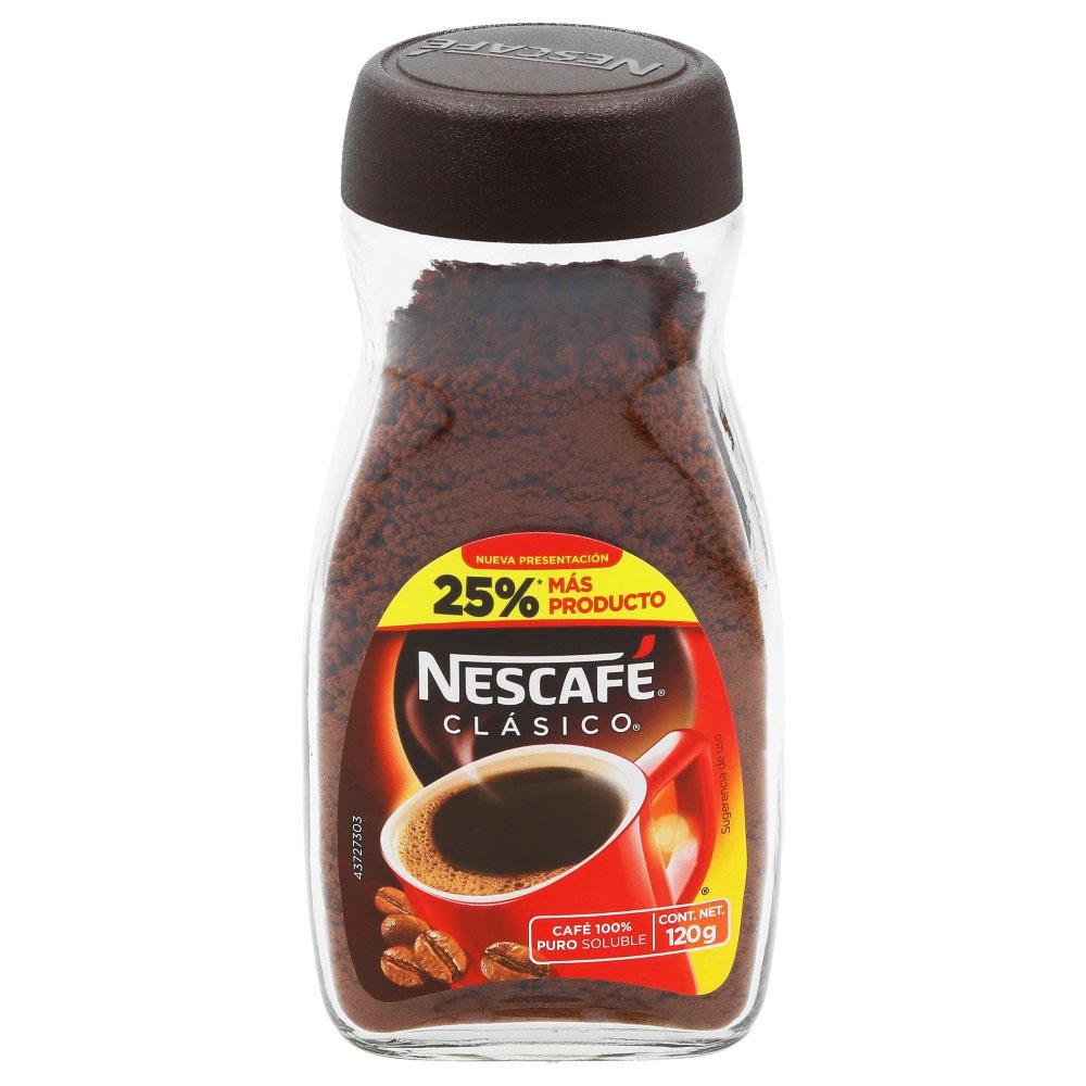 La Comer: Nescafé 120 g $29.90