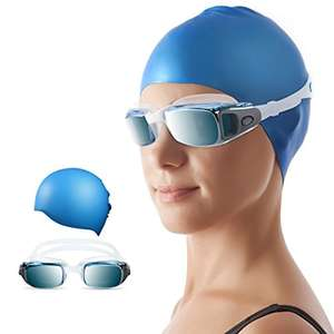 Amazon: Kit de Natacion Gafas y Gorro Adulto (Aplica Prime)