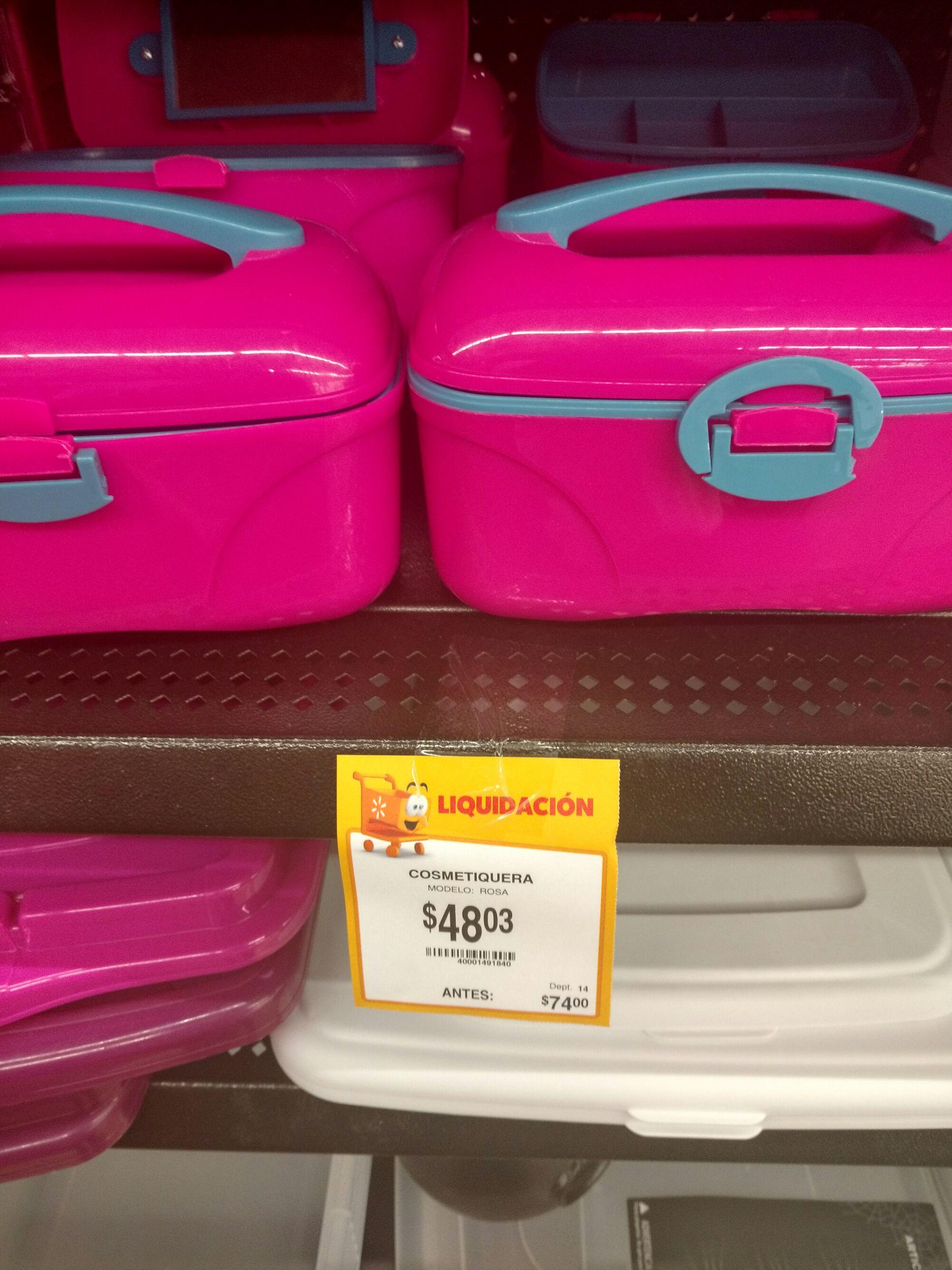 Walmart polígono: Cosmetiquera