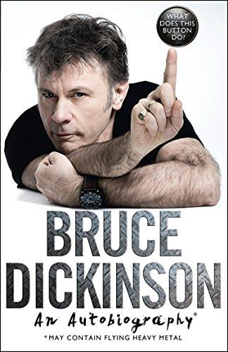 Amazon Kindle: Preventa Biografía de Bruce Dickinson (Iron Maiden)