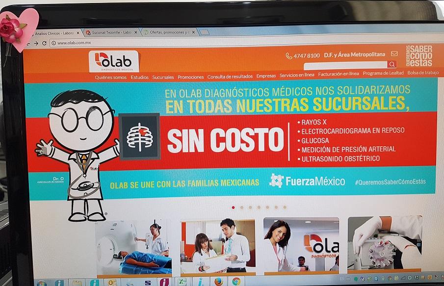 Laboratorios Olab: ESTUDIOS GRATIS!!!!