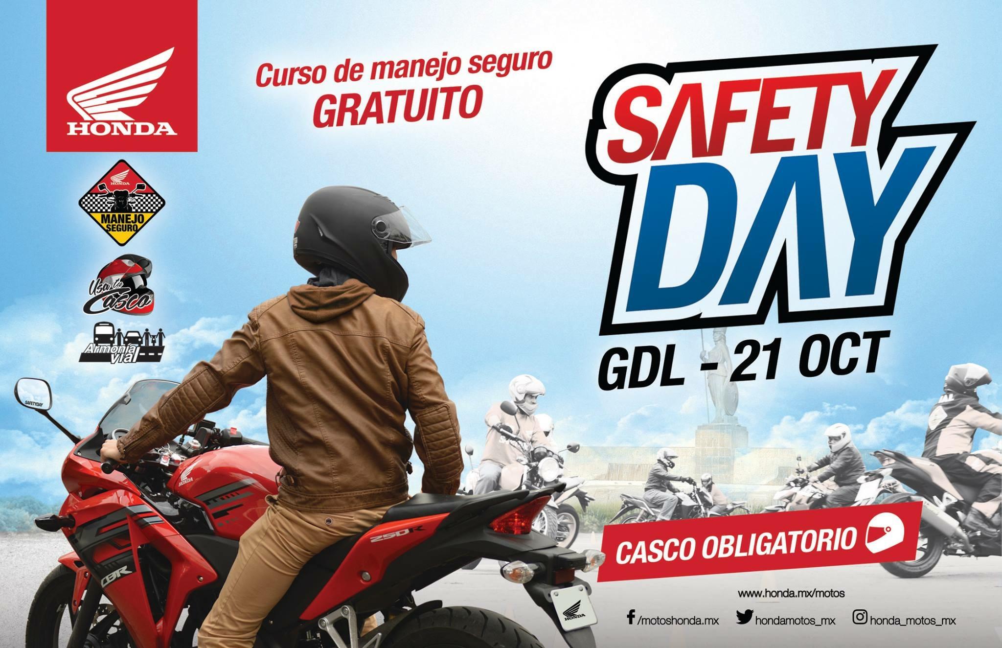 Honda: curso de manejo de moto GRATIS en Guadalajara (con desayuno gratuito)