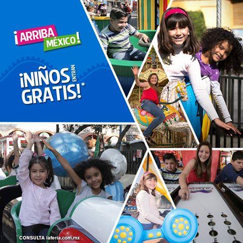 Feria de chapultepec: niños entran gratis y por cada admisión de adulto aportaran $50 pesos a la Cruz Roja