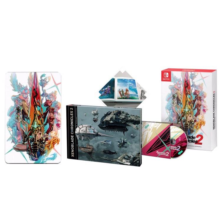 Gameplanet: Preventa Xenoblade Chronicles 2 special edition