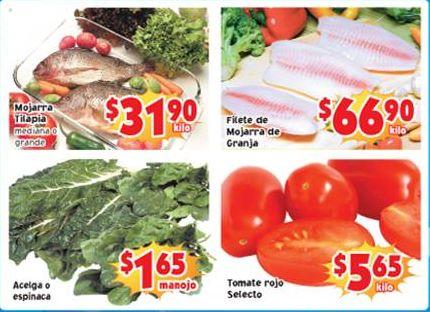 Ofertas de frutas y verduras en Soriana 15 y 16 de abril