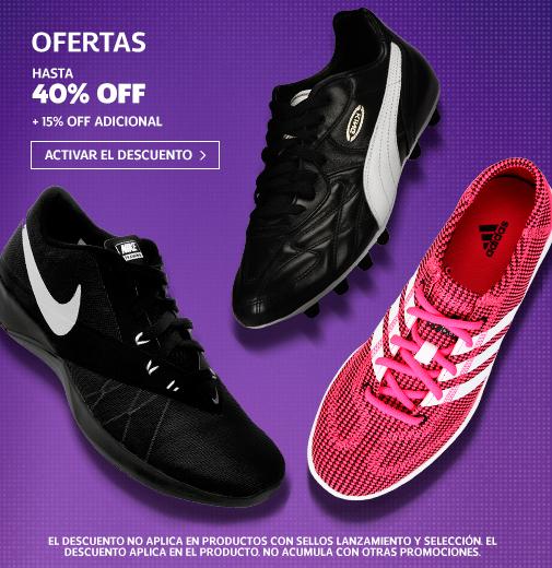 Netshoes, envio gratis en toda la tienda, Descuentos desde el 20% hasta el 50% + Cupones