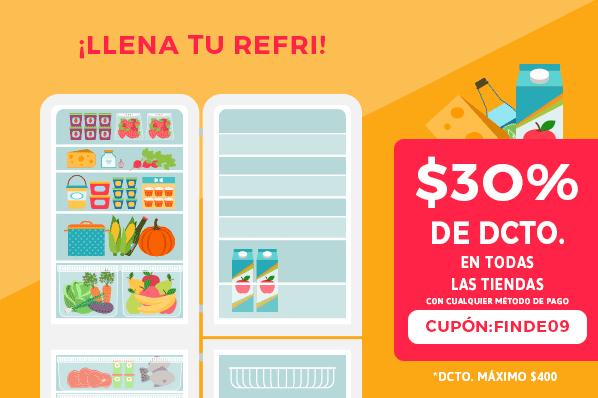 Mercadoni: cupón 30% para tienda Costco