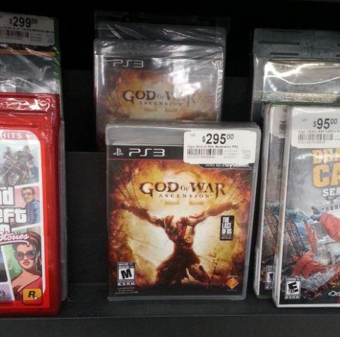 Chedraui: God of War Ascencion PS3 $295