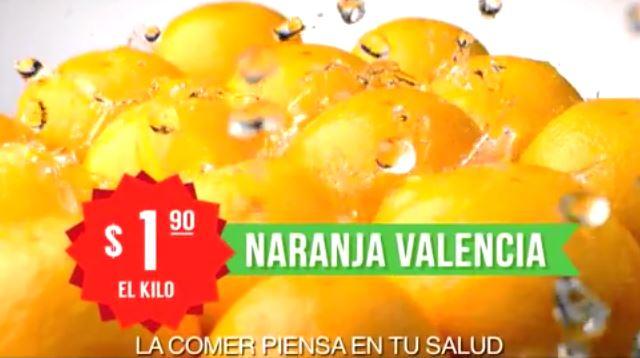 Miércoles de Plaza en La Comer diciembre 10: naranja valencia $1.90 y más