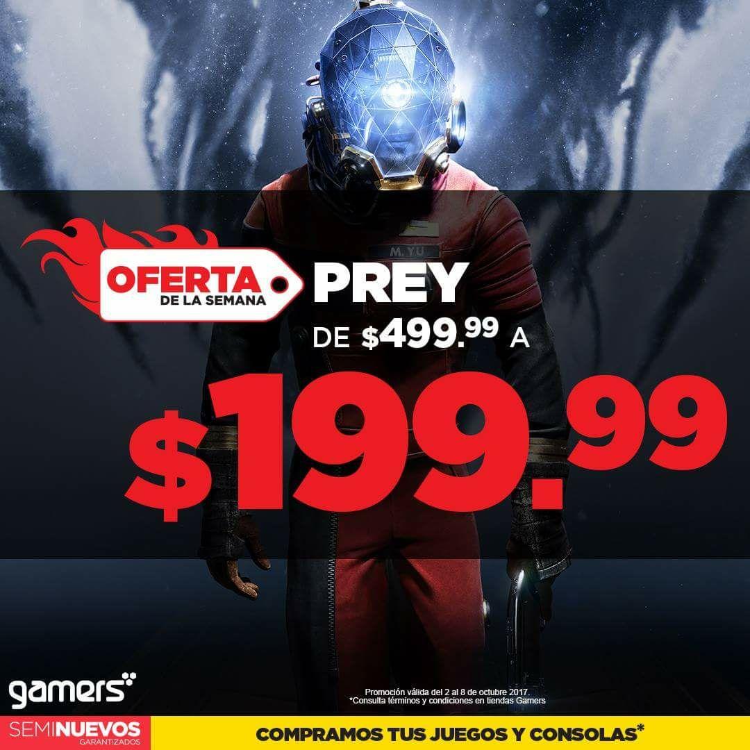 Gamers: Prey para PS4 y ONE