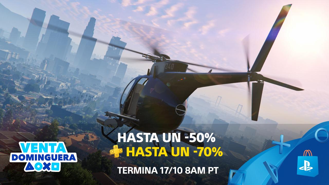 PlayStation Store: Venta Dominguera: Descuentos de hasta el 70%
