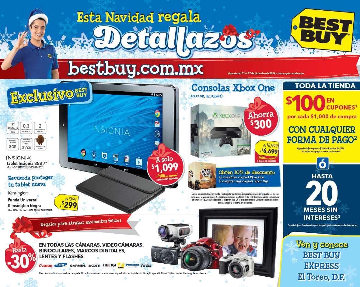 Folleto de ofertas en Best Buy del 11 al 17 de diciembre