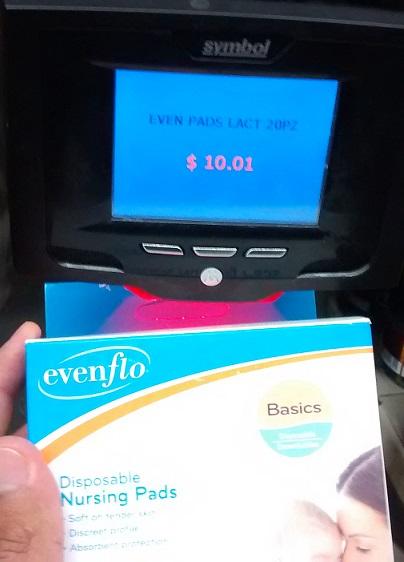 Bodega Aurrera: Protectores de lactancia $10