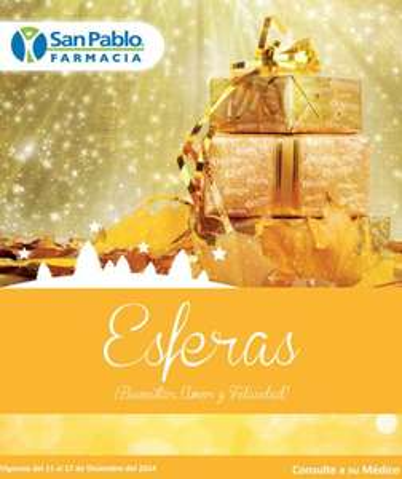 Folleto de ofertas Farmacias San Pablo del 11 al 17 de diciembre