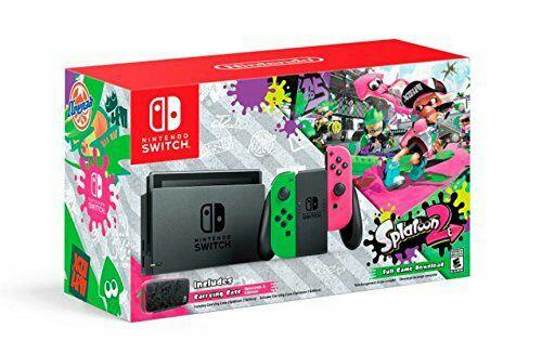 Amazon MX: Nintendo Switch Splatoon Bundle a $8,998