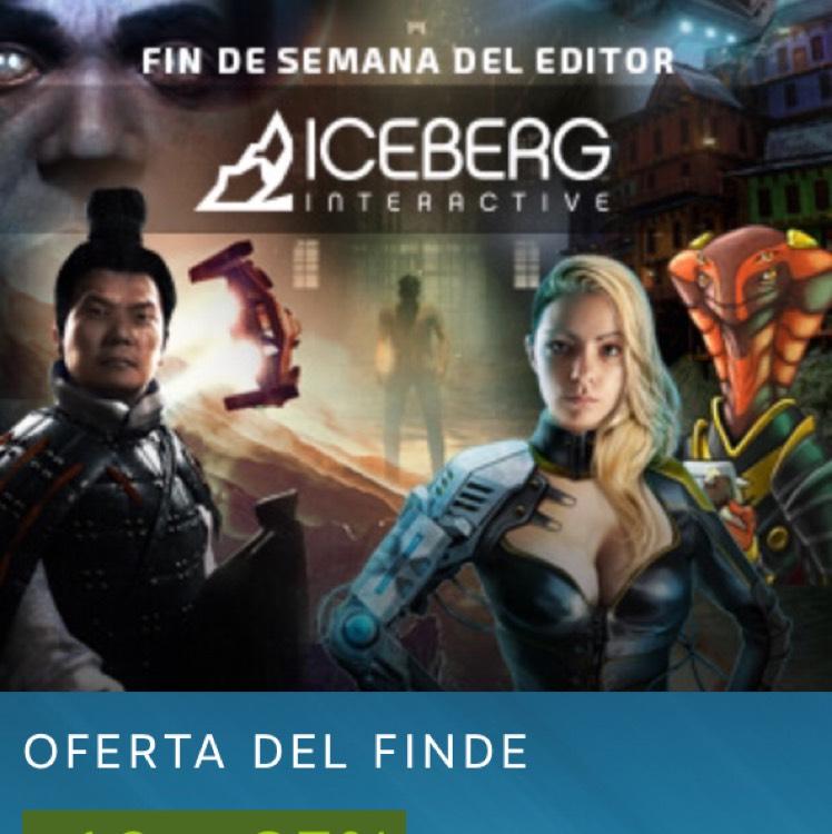 Steam: fin de semana del editor, descuentos de hasta el 85%