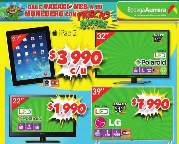 Bodega Aurrerá: iPad 2 $3,990