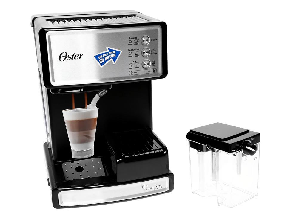 Liverpool: Cafetera Oster Prima Latte + horno eléctrico $2,650 o $2,500