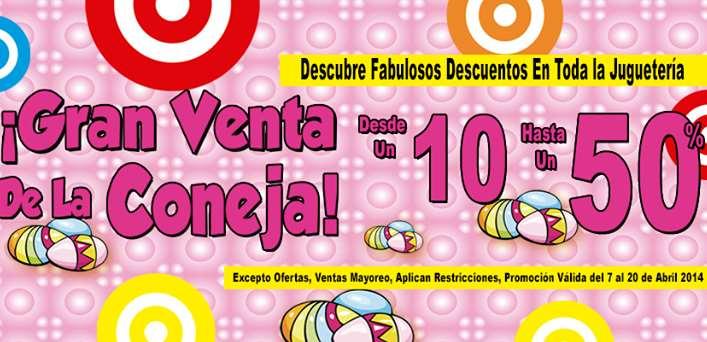 Julio Cepeda: venta de la coneja con descuentos hasta el 50%
