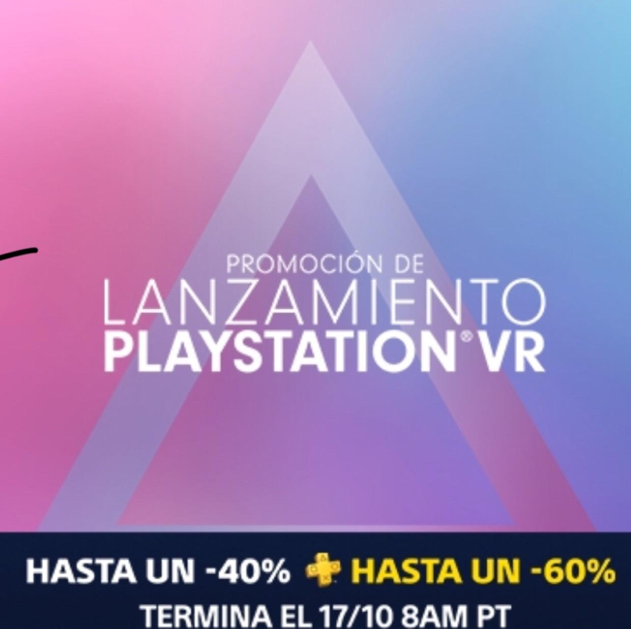 Promoción de Lanzamiento PlayStation VR