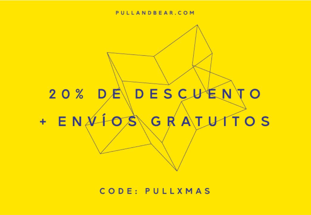 Pull&bear: 20% de descuento extra + envíos gratis