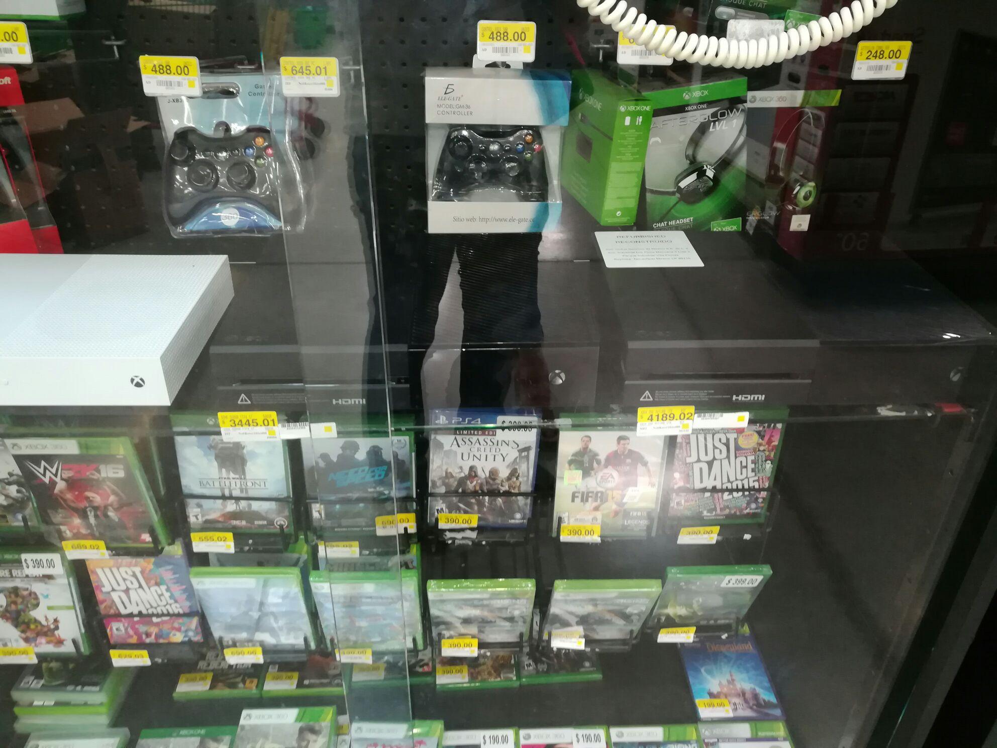 consolas de videojuegos en bodega aurrera