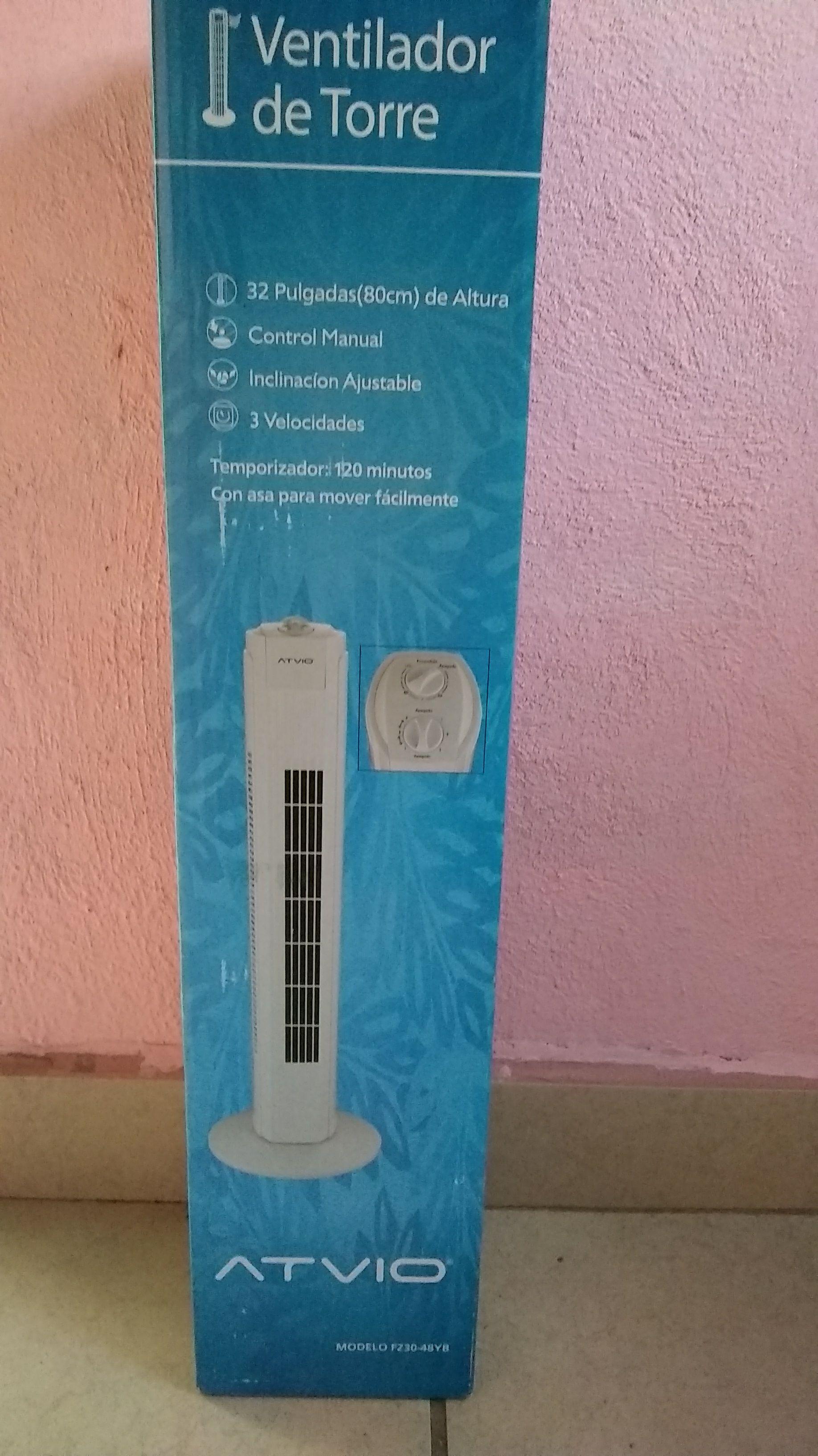 Bodega Aurrerá: Ventilador Torre Atvio