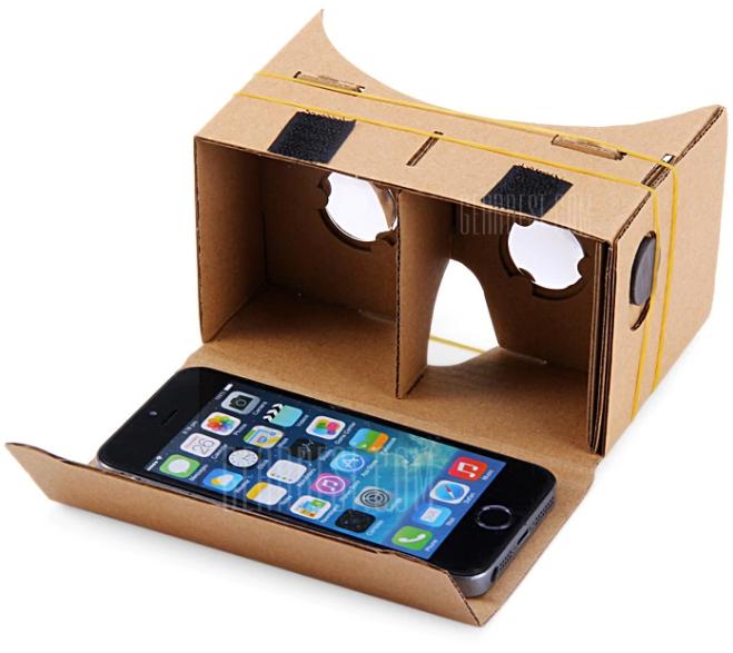 GearBest: Cardboard VR + artículos de menos de $18