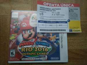 Coppel: 3DS Mario & Sonic at the Río 2016 Olympic games