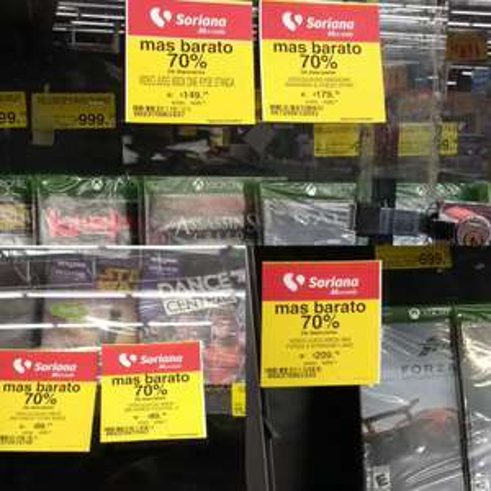 Soriana mercado: videojuegos para Xbox y Ps4 con 70% de descuento