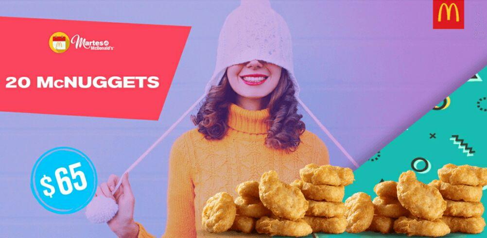 McDonald's: 20 Nuggets por $65